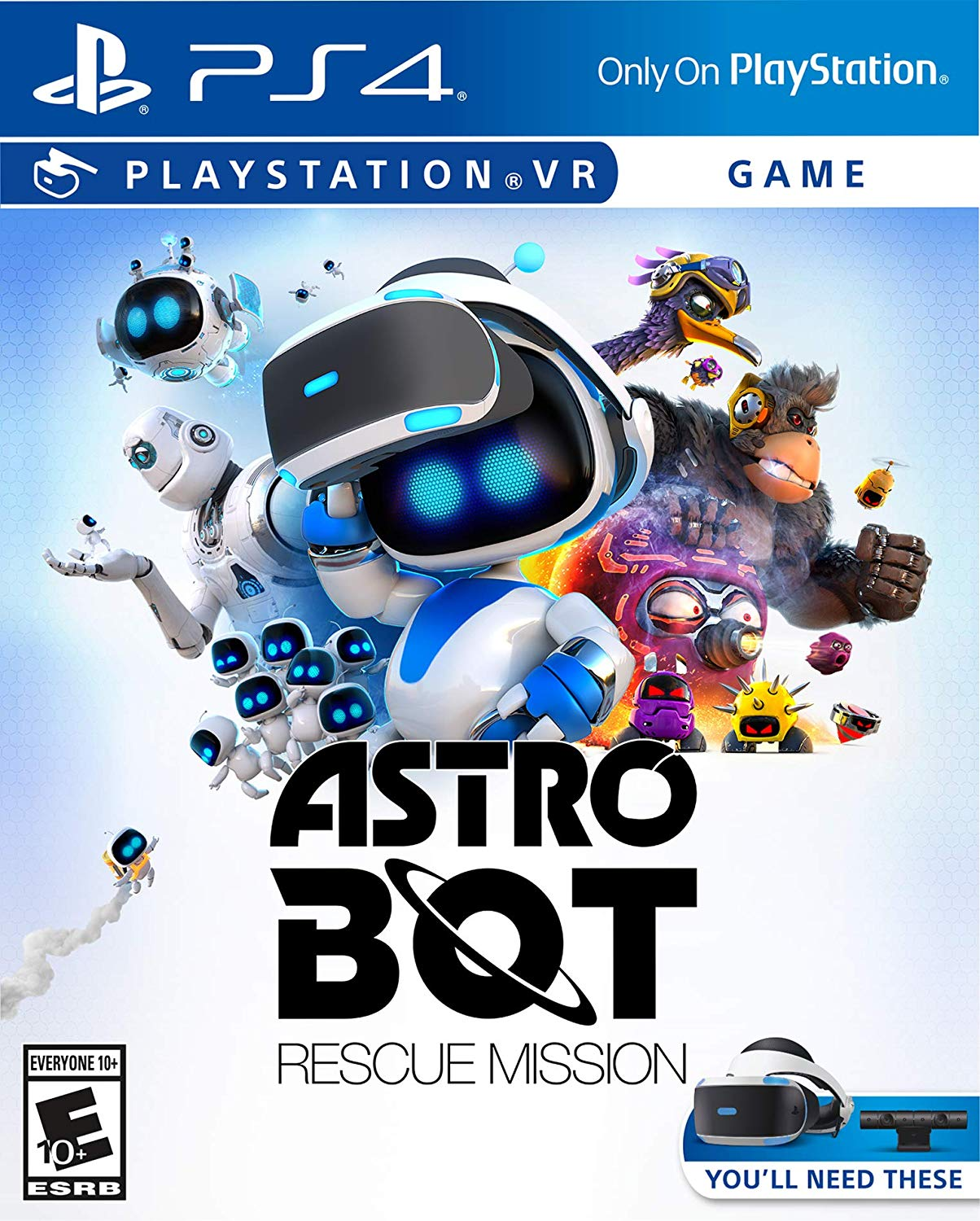 80a6b3e051e ASTRO Bot Rescue Mission – PlayStation VR by Sony – world of toys ...